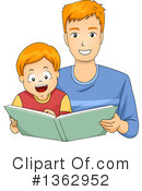 Reading Clipart #1362952 by BNP Design Studio
