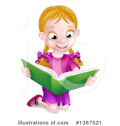 Royalty-Free (RF) Reading Clipart Illustration by AtStockIllustration - Stock Sample #1367521