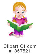 Royalty-Free (RF) Reading Clipart Illustration #1367521