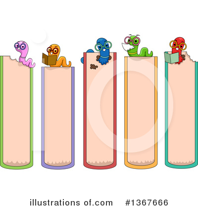Worm Clipart #1367666 by BNP Design Studio