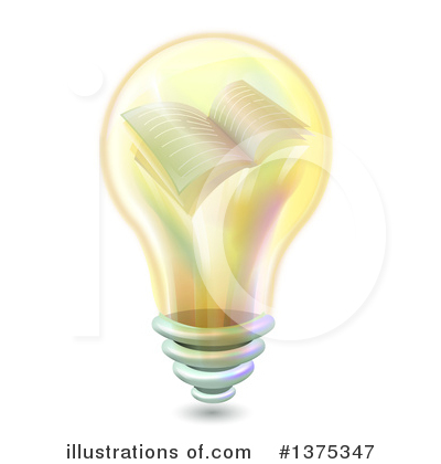 Light Bulb Clipart #1375347 by BNP Design Studio