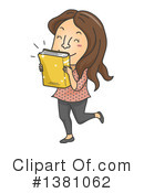Reading Clipart #1381062 by BNP Design Studio
