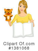 Reading Clipart #1381068 by BNP Design Studio