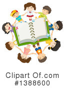 Reading Clipart #1388600 by Graphics RF