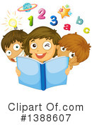 Reading Clipart #1388607 by Graphics RF