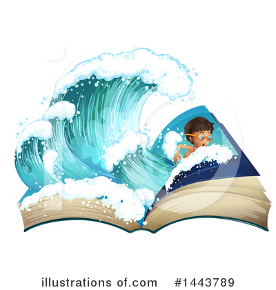 Wave Clipart #1443789 by Graphics RF