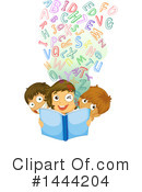 Reading Clipart #1444204 by Graphics RF