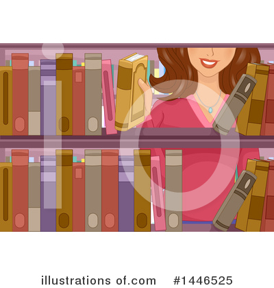 Royalty-Free (RF) Reading Clipart Illustration by BNP Design Studio - Stock Sample #1446525