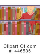 Reading Clipart #1446536 by BNP Design Studio