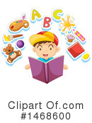 Reading Clipart #1468600 by Graphics RF
