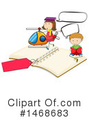 Reading Clipart #1468683 by Graphics RF