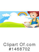 Reading Clipart #1468702 by Graphics RF