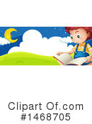 Reading Clipart #1468705 by Graphics RF