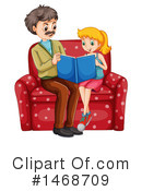 Reading Clipart #1468709 by Graphics RF