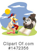 Reading Clipart #1472356 by Graphics RF