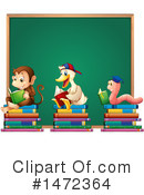 Reading Clipart #1472364 by Graphics RF