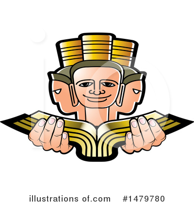 Book Clipart #1479780 by Lal Perera