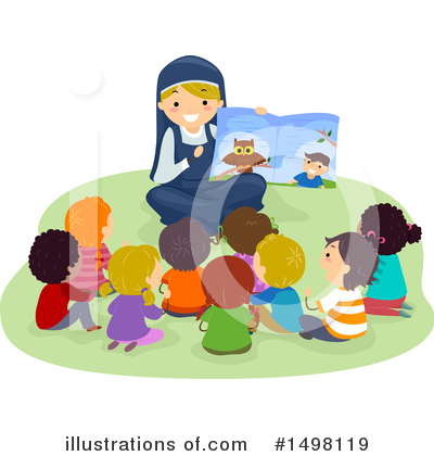 Nun Clipart #1498119 by BNP Design Studio