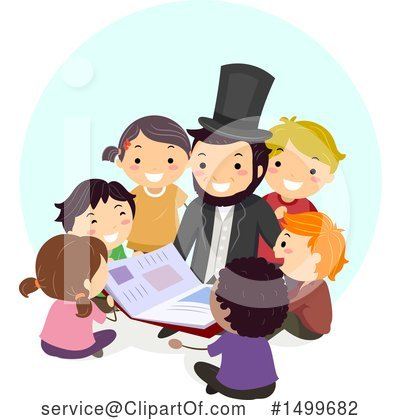 Abraham Lincoln Clipart #1499682 by BNP Design Studio