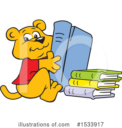 Royalty-Free (RF) Reading Clipart Illustration by Johnny Sajem - Stock Sample #1533917