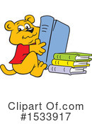 Reading Clipart #1533917 by Johnny Sajem