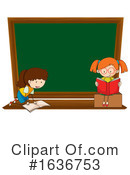 Reading Clipart #1636753 by Graphics RF
