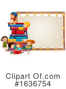 Reading Clipart #1636754 by Graphics RF