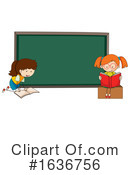 Reading Clipart #1636756 by Graphics RF
