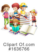 Reading Clipart #1636766 by Graphics RF