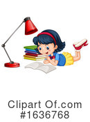 Reading Clipart #1636768 by Graphics RF