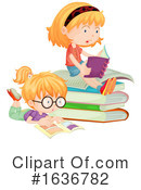 Reading Clipart #1636782 by Graphics RF