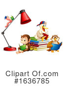 Reading Clipart #1636785 by Graphics RF