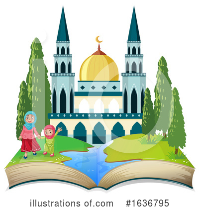 Mosque Clipart #1636795 by Graphics RF