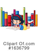 Reading Clipart #1636799 by Graphics RF