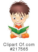 Reading Clipart #217565