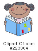 Reading Clipart #223304 by Hit Toon