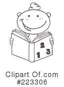 Reading Clipart #223306 by Hit Toon