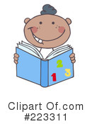 Reading Clipart #223311 by Hit Toon