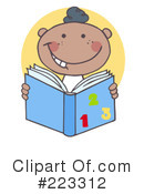 Reading Clipart #223312 by Hit Toon