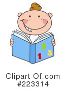 Reading Clipart #223314 by Hit Toon