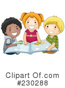 Reading Clipart #230288 by BNP Design Studio