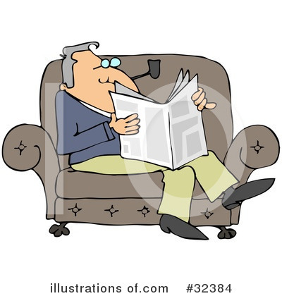 Newspaper Clipart #32384 by djart