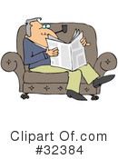 Reading Clipart #32384 by djart