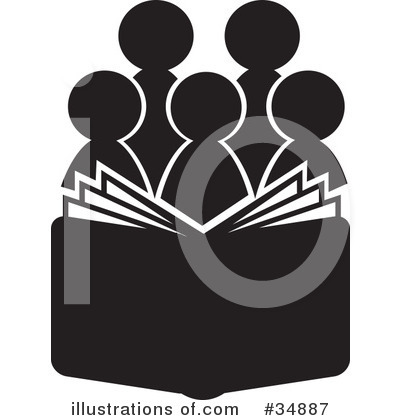 Royalty-Free (RF) Reading Clipart Illustration by Alexia Lougiaki - Stock Sample #34887