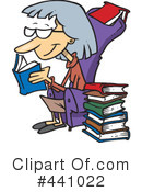 Reading Clipart #441022