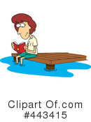 Reading Clipart #443415 by toonaday