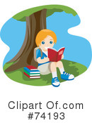 Reading Clipart #74193