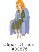 Reading Clipart #83876