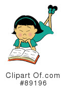 Reading Clipart #89196 by Pams Clipart