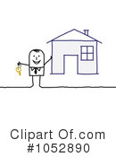 Royalty-Free (RF) Real Estate Clipart Illustration #1052890